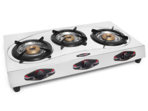 Fabiano 3 Burner Stainless Steel