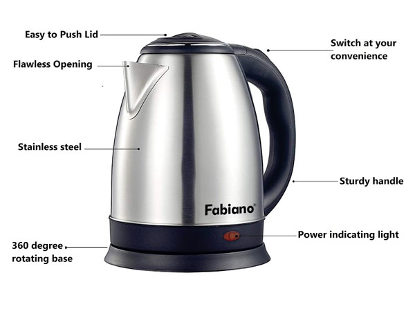 Fabiano A-70 Electronic Kettle 1.8 Litre